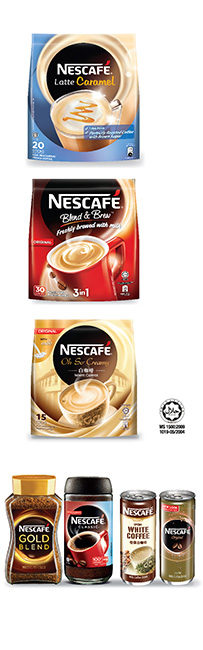 COFFEE Nescafe Packs