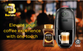 Introducing the new NESCAFÉ® Gold Blend Barista Machine