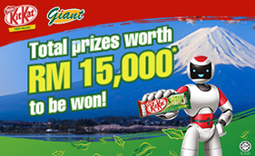 JAPAN AWAITS WITH KIT KAT GREEN TEA & GIANT CONTEST!