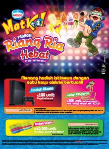 Promosi Peraduan Riang Ria Hebat