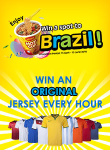 Win a Spot to Brazil with MAGGI HOT CUP