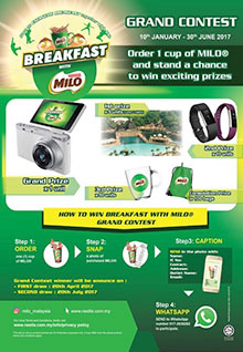 BREAKFAST WITH MILO GRAND CONTEST