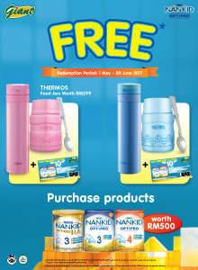 FREE Thermos Food Jars with NANKID OPTIPRO!