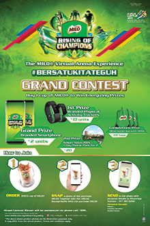 NESTLÉ MILO® RISING OF CHAMPIONS GRAND CONTEST