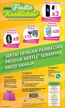 PERADUAN NESTLÉ HEALTH FAIR EXCLUSIVE AT TESCO