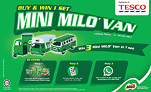 NESTLÉ MILO FAIR EXCLUSIVE AT TESCO CONTEST