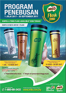 Program Penebusan Flask Juara MILO