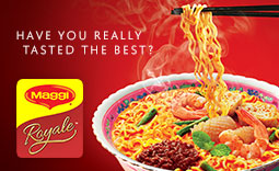 Introducing MAGGI Royale, the ultimate noodle adventure