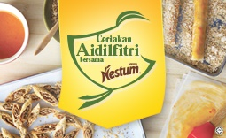 Share your Nestlé® NESTUM® Original Raya recipe