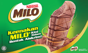 NESTLÉ ICE CREAM Reveals MILO® Frozen Confection