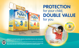 Free NAN Grow samples for your child!
