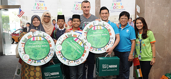 A Feast of Flavours at Nestlé ROCKS Charity Bazaar