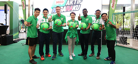 MILO<sup>®</sup> To Make Five Million Malaysians Get Active