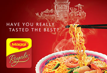 Introducing MAGGI Royale, the ultimate noodle adventure.