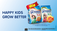 Happy Kids Grow Better with LACTOKID