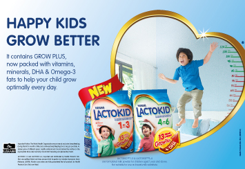 Happy Kids Grow Better with LACTOKID™
