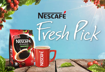 Great Start of the Year with NESCAFÉ Fresh Pick