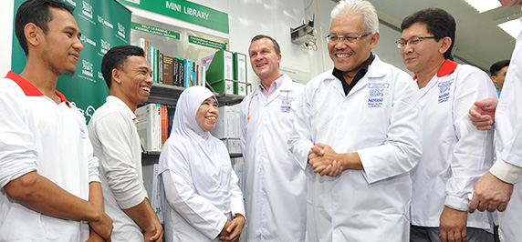 Nestlé emphasises commitment on 100% Malaysian workforce during MDTCC visit