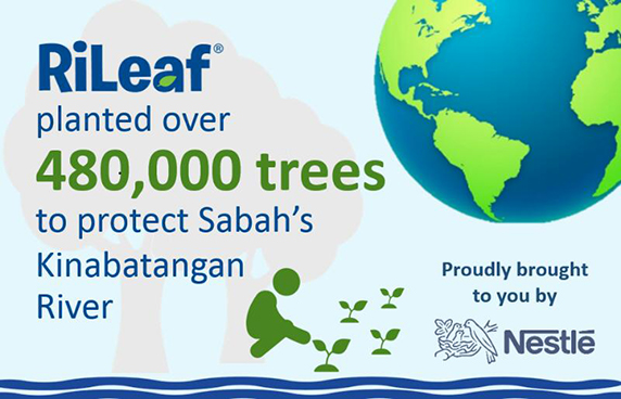 Over 480,000 trees planted