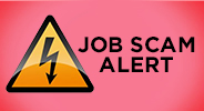 Announcement from Nestlé – JOB SCAM ALERT