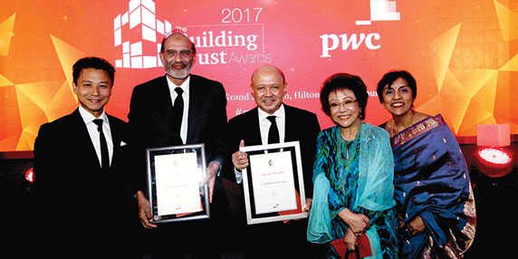 Nestlé Malaysia Recognised for Efforts in Building Trust
