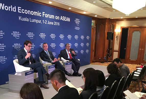 Nestlé – Harnessing the ASEAN Potential at WEF on ASEAN