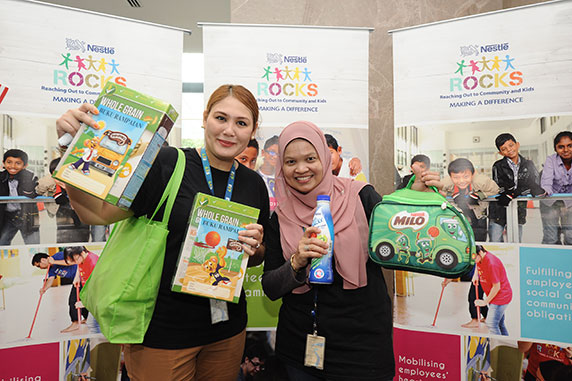Nestlé ROCKS Charity Bazaar Raises over RM70,000 for a Good Cause