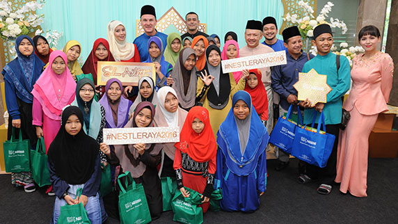 Nestlé Malaysia Celebrates the Gift of Giving at Hari Raya Open House