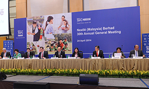 Nestlé Malaysia's 30th Annual General Meeting