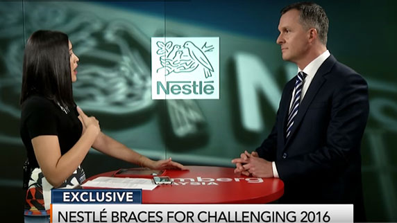 Nestlé Malaysia's MD shares exclusive business insights on Thai programme, Stocks Around Us and Bloomberg TV
