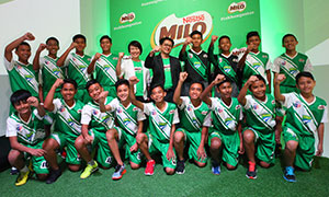 MILO® advocates Never Give Up attitude to raise Champions