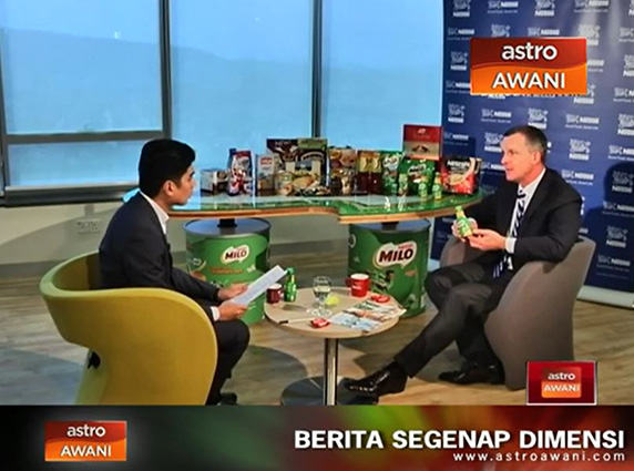 Nestlé Malaysia's MD talks about the Company's success story and its exciting innovations on ASTRO Awani