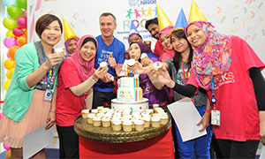 NESTLÉ CELEBRATES 10 ROCKING YEARS OF COMMUNITY OUTREACH
