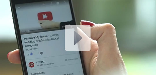 Nestlé and Google launch KitKat 'YouTube my break' campaign