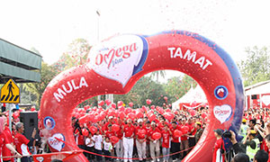 Over 2000 Pledge to 'Walk A Mile' to Healthier Hearts