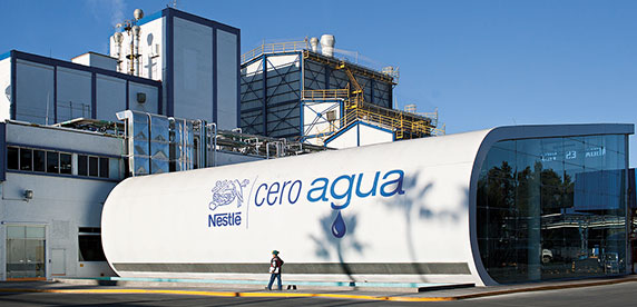 Nestlé's 'Cero Agua' dairy factory in Jalisco, Mexico