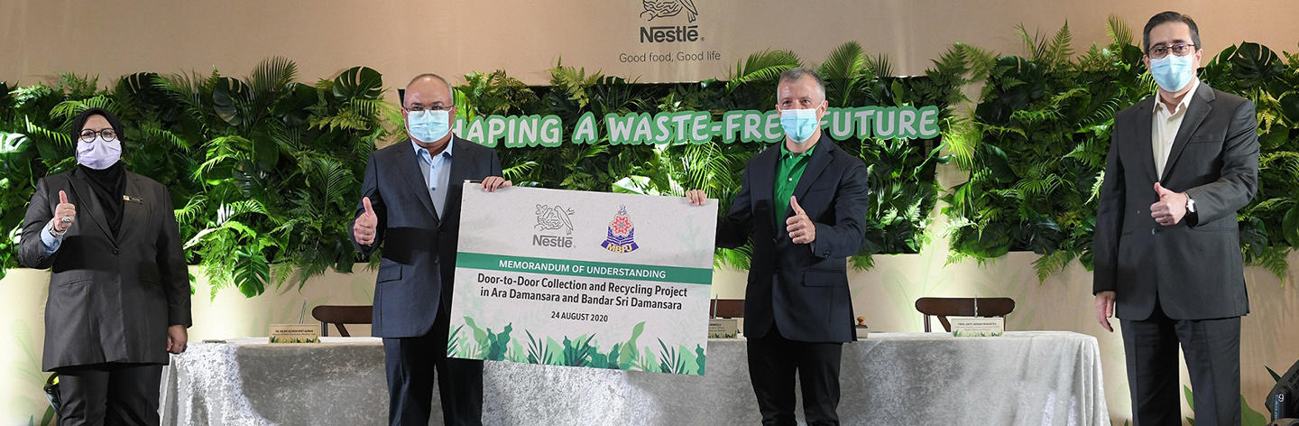 Nestlé Partners with MBPJ to Shape a Waste-Free Malaysia