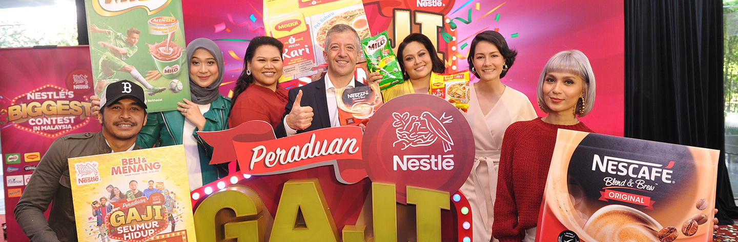 Nestlé Malaysia Offers Chance of a lifetime to win 'Salary For Life'