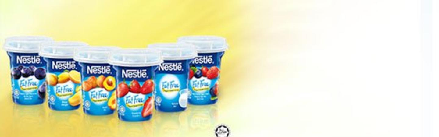 NESTLÉ FAT FREE YOGURT