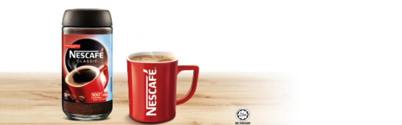 NESCAFÉ<sup>®</sup> CLASSIC