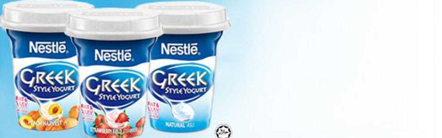 NESTLÉ Greek Style Yogurt