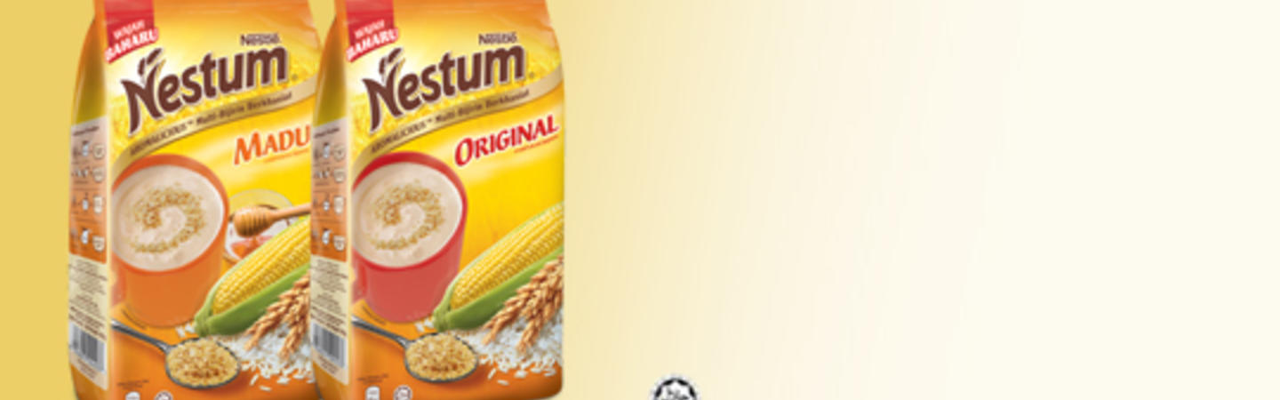 Nestlé<sup>®</sup> NESTUM<sup>®</sup> Hot Cereals